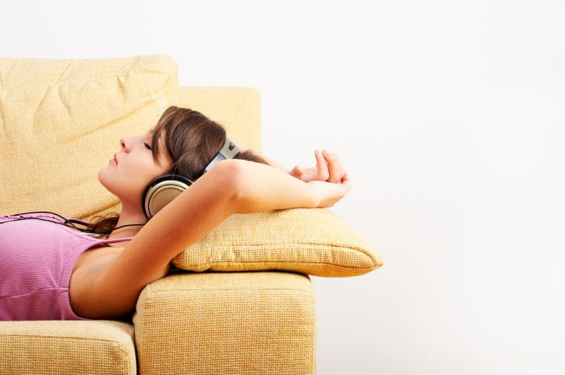 entspannung musik hören